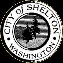 city of shelton logo B&W