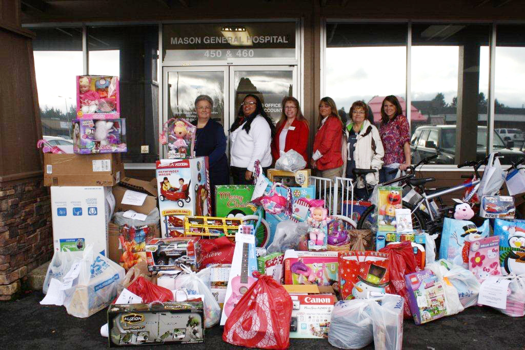 Foster child toy drive MGH 12.12