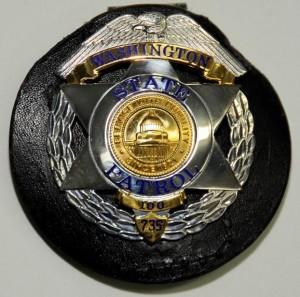 wsp commemorative badge