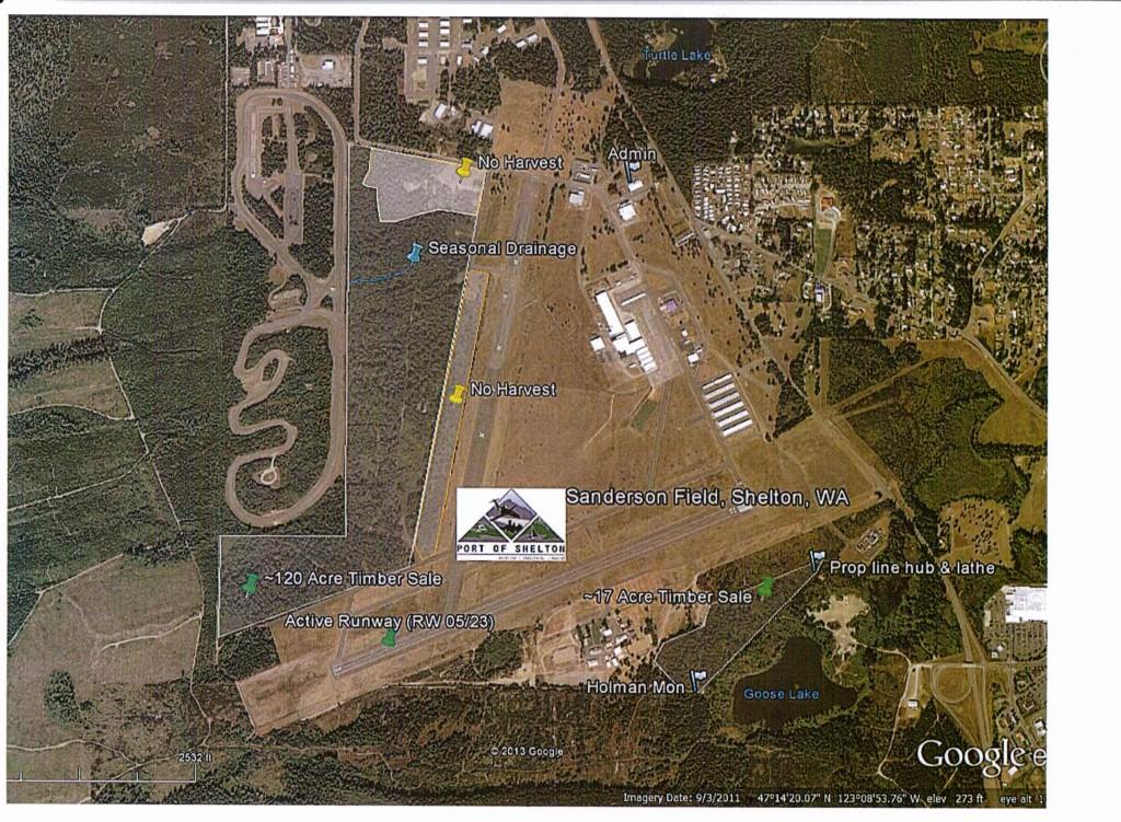 airport timber map