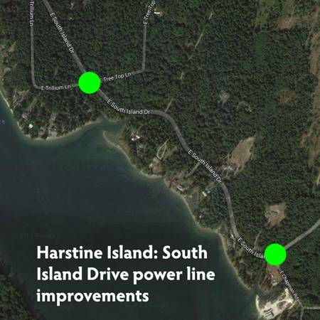 S harstine line upgrade map