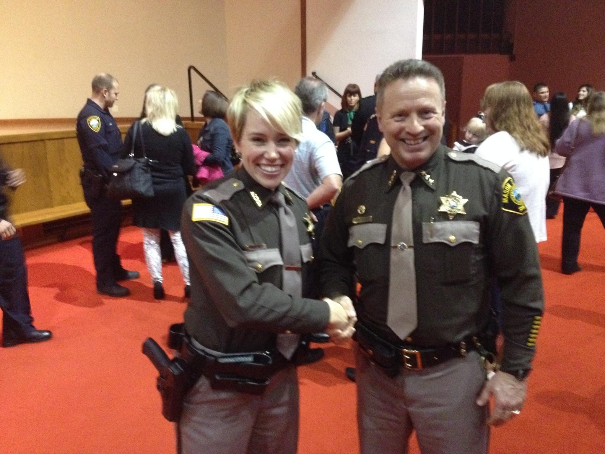 New Deputy Graduates From Law Enforcement Academy