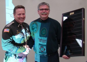 sheriff receives award - Cropped