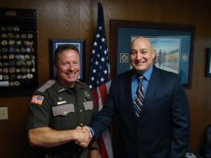 Sheriff Salisbury & New Ofc Diaz