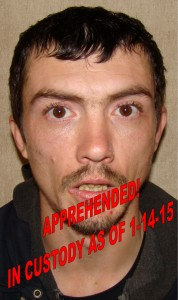 Adam L Inman - in custody
