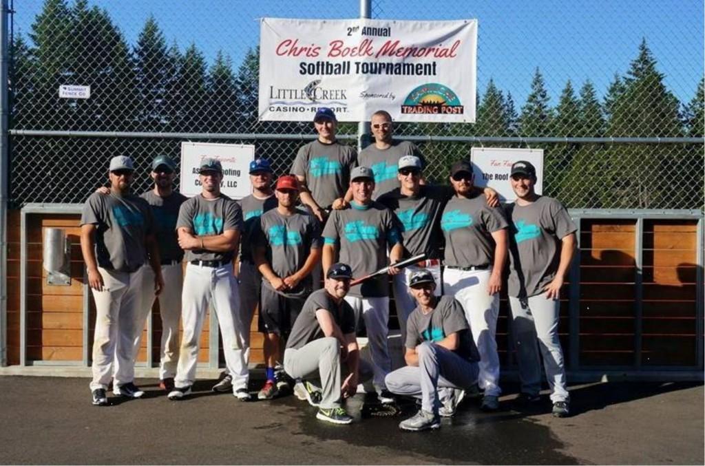 Team #Town, 1st Place Winners of the 2015 Boelk Memorial Tournament (photo credit: Jessica Koehn)