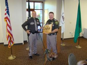 Dep Dodge & Sheriff Salisbury & K-9 Kona