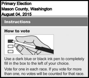 2015 primary ballot