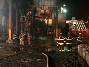 crews at hopper fire