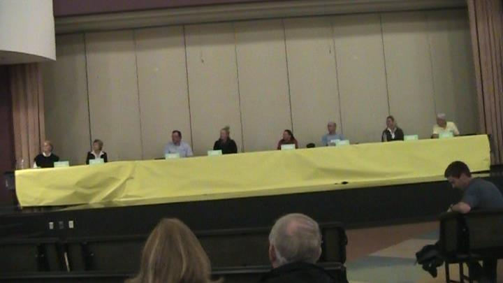 100615 shelton school board candidates forum