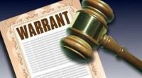 outstanding warrant