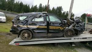crashed rig