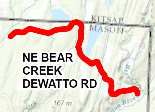2016 chip seal bear creek dewatto