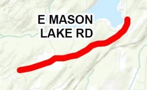2016 chip seal mason Lake