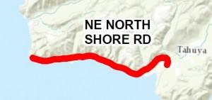 2016 chip seal northshore