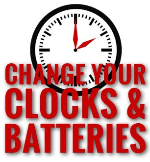 State Fire Marshal Reminds Residents To Change Your Clocks