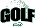 WIAA state golf logo
