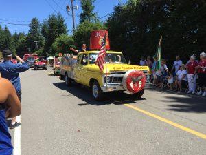 Tahuya Fourth parade truck