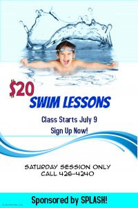 Copy of Swimming classes