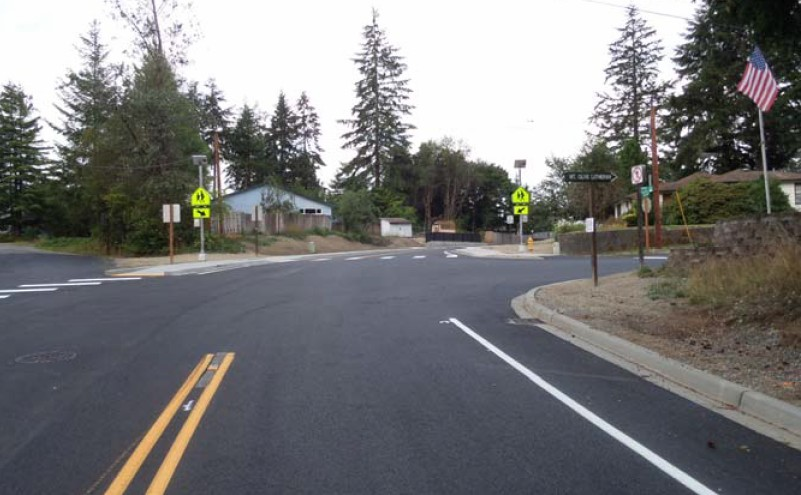 Pioneer Way Lake Blvd University intersection