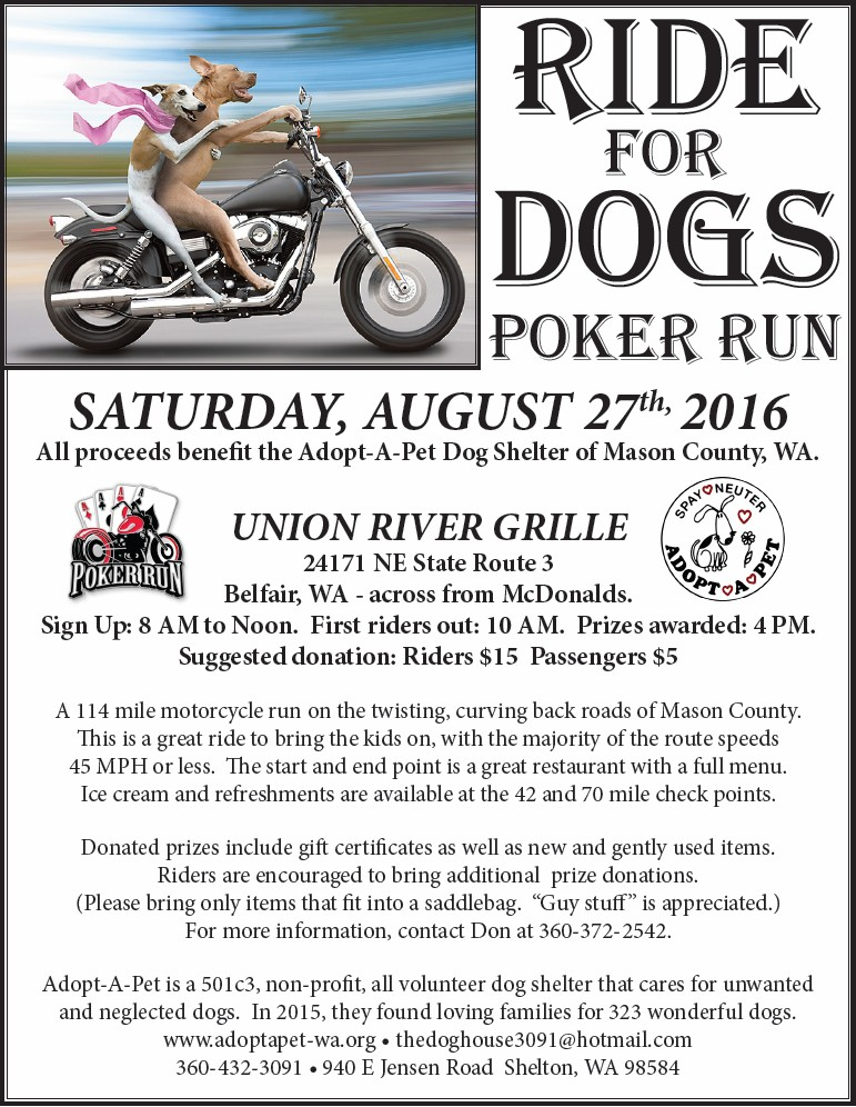 Poker run shelton wa