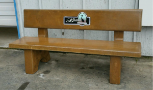 beautification bench