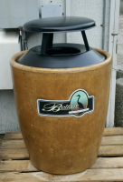beautification trash can