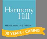 Harmony Hill 30 yr logo