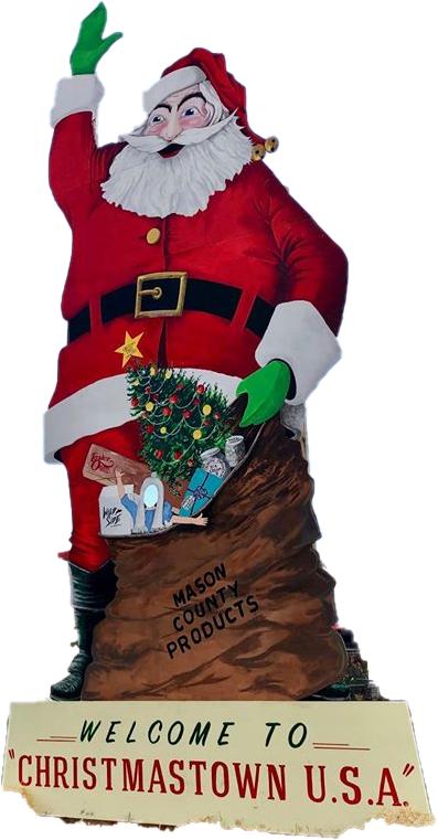 Christmastown, USA scene for Guinness World Record Attempt