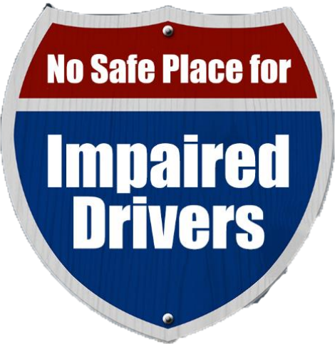 Image result for A New Year but an old truth- There's no safe place for impaired drivers to hide.